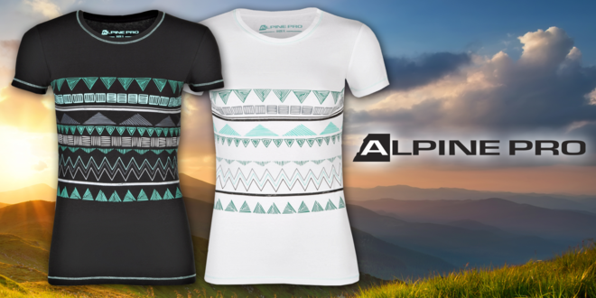 Dámská bavlněná trička Alpine Pro