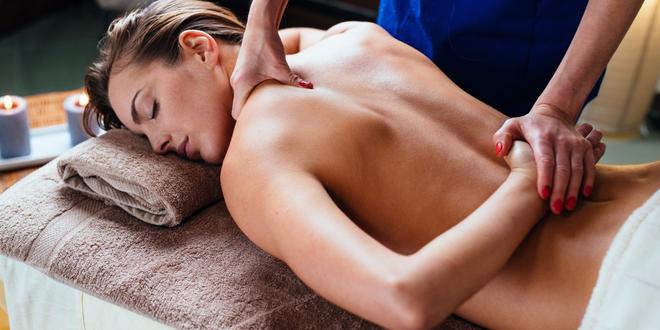 40minutová Breussova uvolňující masáž páteře