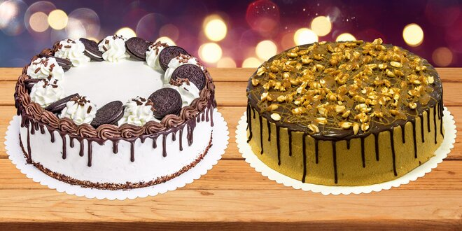 Domácí dort ve dvou velikostech: výběr z 8 druhů