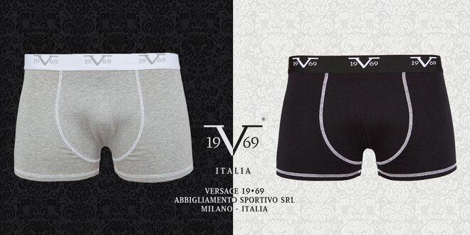 Balení 2 pohodlných boxerek Versace 19.69