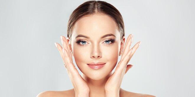 Kosmetické ošetření mikrodermabrazí vč. masáže