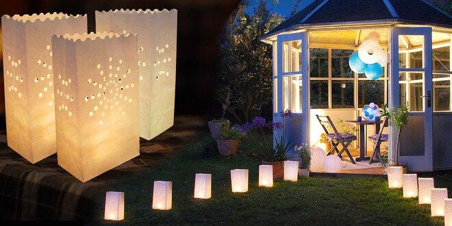 Dekorativní lampiony nejen pro sváteční atmosféru