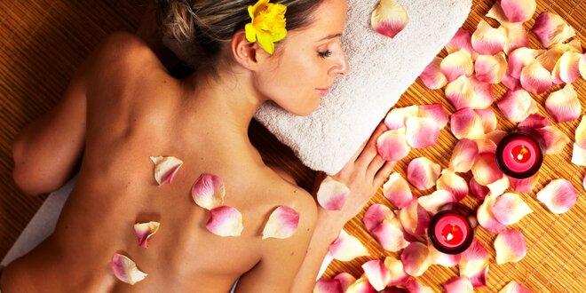 Exotická Pinacolade masáž v salonu Elite