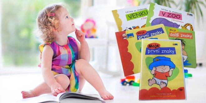 Leporela pro aktivní čtení s miminky a batolaty