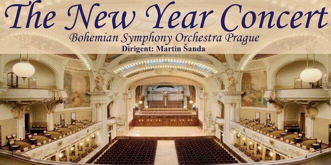 Novoroční galakoncert ve Smetanově síni