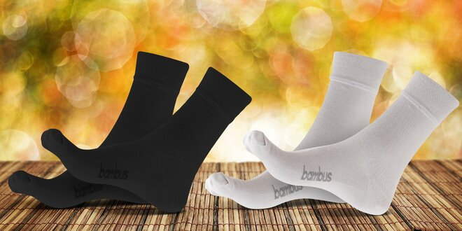 Kvalitní viskózové ponožky z české výrobny
