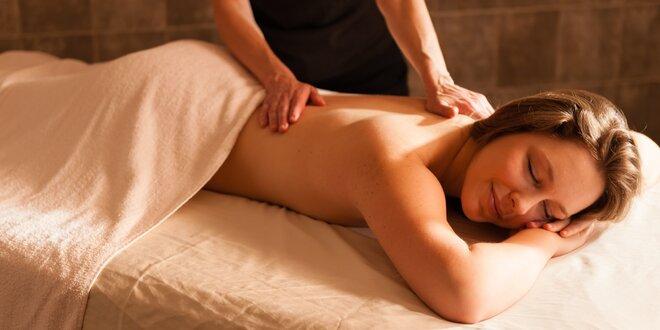 Čas na pauzu: uvolňující zdravotní masáž