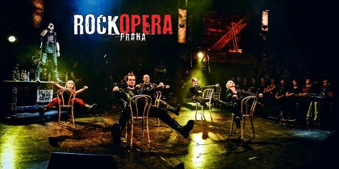 Vstupenky na hudební představení do RockOpery