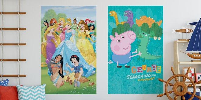 Fototapety a dekorace na zeď s pohádkovými motivy