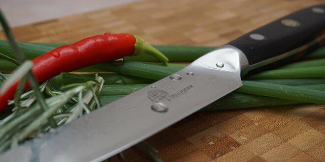 Kuchyňský nůž Delllinger z damascénské oceli