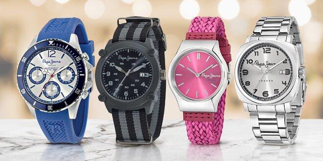 Dámské i pánské analogové hodinky Pepe Jeans  811cef56ad9