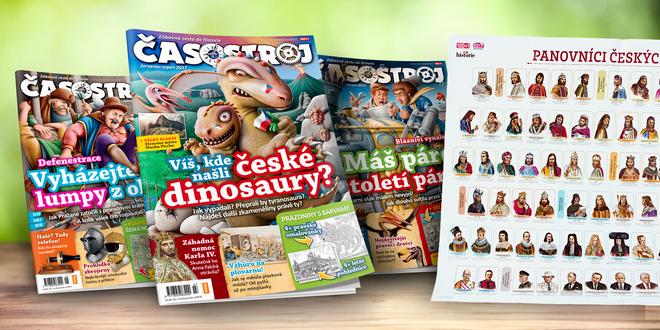 Kompletní ročník dětského magazínu Časostroj - ročník 2017