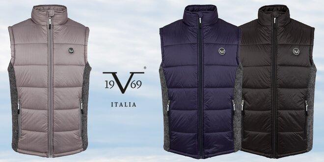 Pánské prošívané vesty Versace 19.69