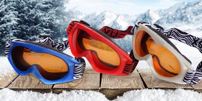 Dětské lyžařské a snowboardové brýle UVEX