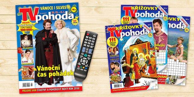 Roční předplatné magazínu TV pohoda
