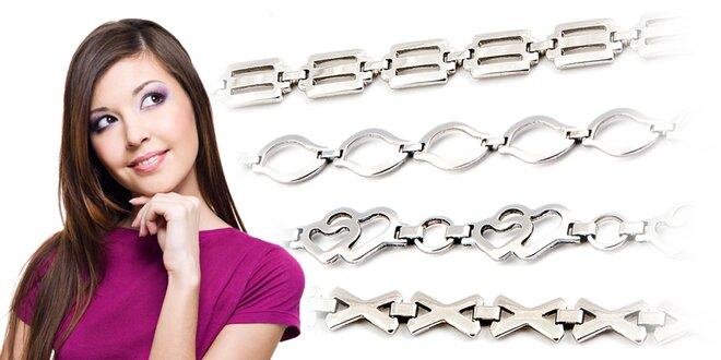 Řetízek a náramek z chirurgické oceli: krásný dárek pro muže i ženy