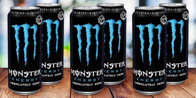 Monster Absolutely Zero: energie bez cukru