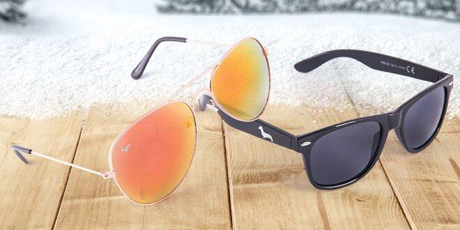 Stylové sluneční brýle pro zimní radovánky