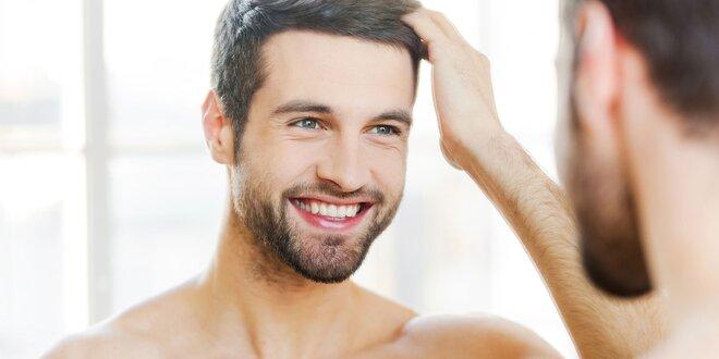 Pánský moderní střih včetně masáže hlavy