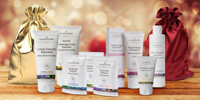 Sady švýcarské kosmetiky s alpskou solí