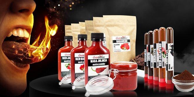 Dárek pro CHILLI-žrouta: kvalitní chilli papričky