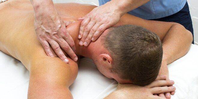 Sportovní nebo klasická masáž v délce 60 minut