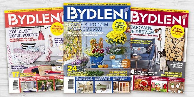 Roční předplatné časopisu Bydlení 2018
