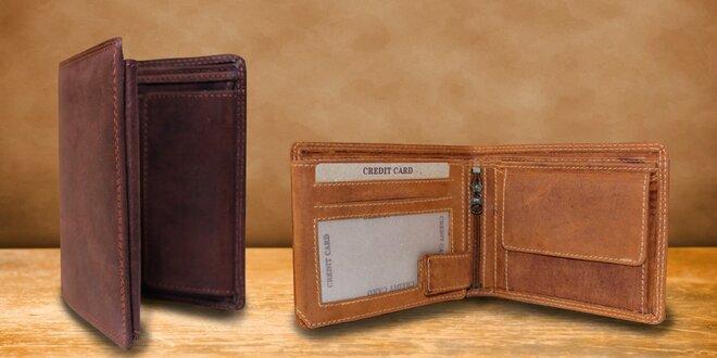 Pánská peněženka z pravé buvolí kůže