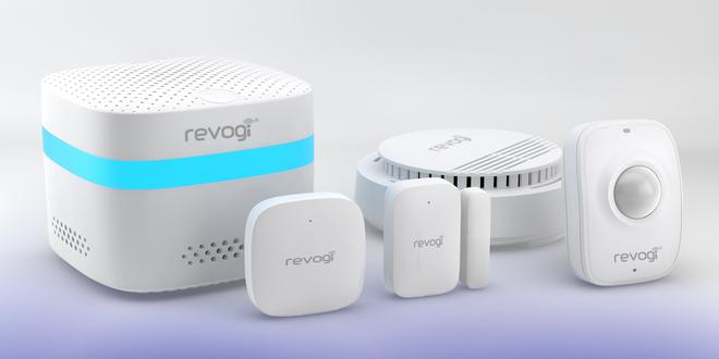 Chytrý zabezpečovací systém domácnosti Revogi