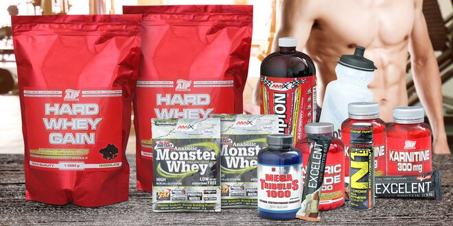 Výživové fitness doplňky od A do Z s dárkem