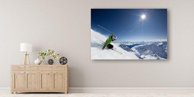Fotoobraz na malířském plátně