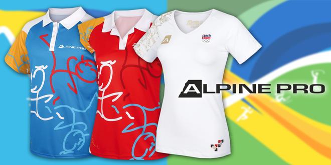 Sportovní trička Alpine Pro
