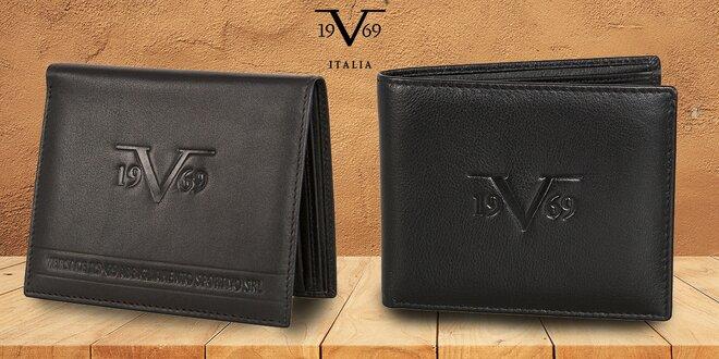 Luxusní pánské kožené peněženky 19V69 Italia