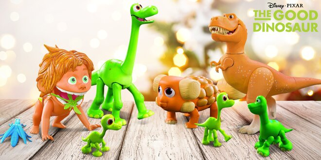 Hračky z oblíbené disneovky Hodný Dinosaurus