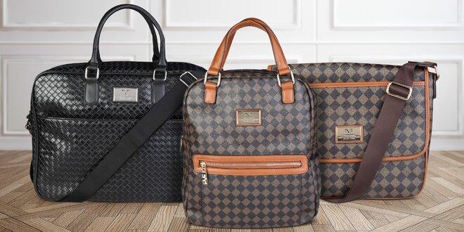 Elegantní unisex tašky do města i na cesty