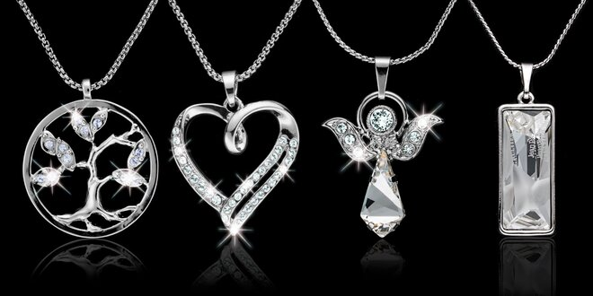 Elegantní šperky Swarovski components