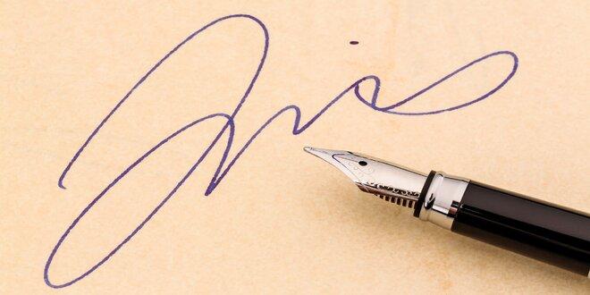 Grafologický kurz: Pravost podpisu a textu