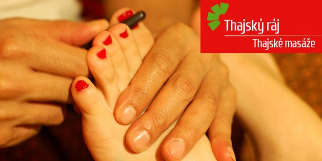 60 minut v Thajském ráji: masáž nohou, nebo zad