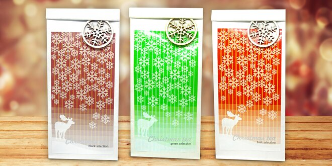 Vánočně naladěné čaje, které zahřejí i na duši