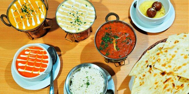 3 exotické chody pro 2 v nepálské restauraci