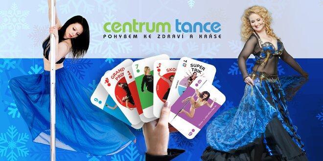 Otevřená karta na 2 měsíce do Centra Tance