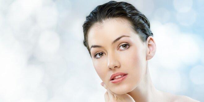 Hodinové kosmetické ošetření pro zářivou pleť