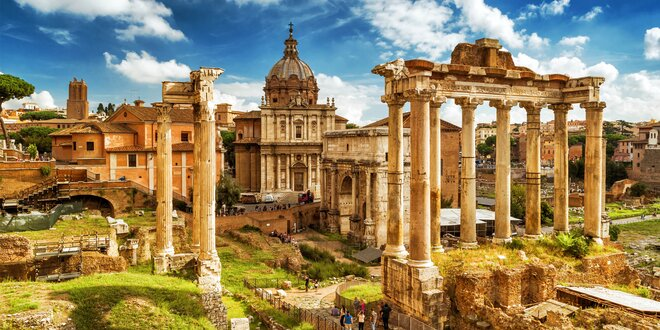 Letecký zájezd do Říma vč. ubytování a průvodce