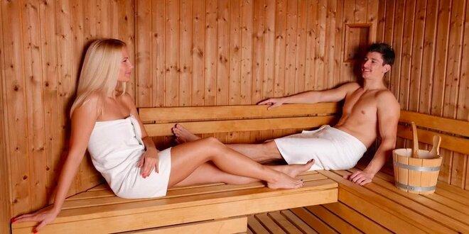 100 minut privátní sauny až pro 4 osoby