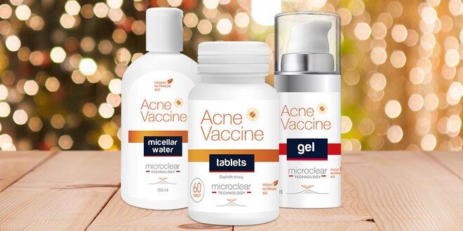 Acne Vaccine set: zvítězte nad svým akné
