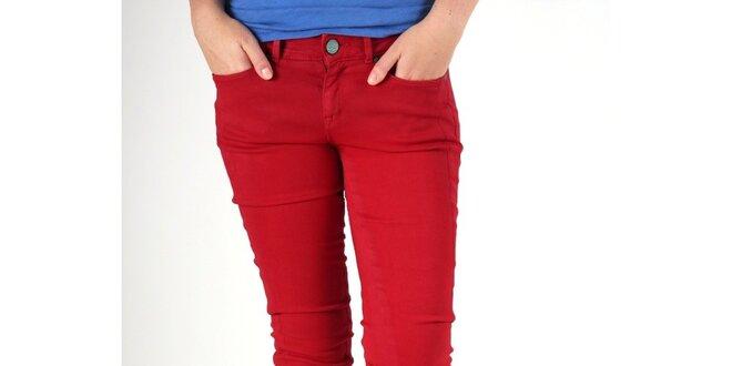 8b52a0a8060 Dámské červené džíny Pepe Jeans