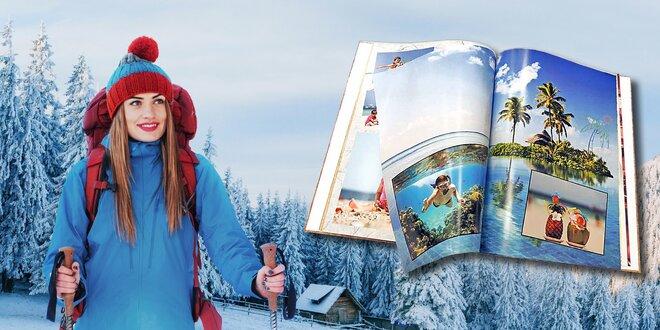 Fotokniha s pevnou šitou vazbou - A4, 72 stran