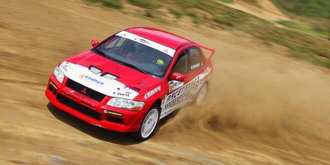 Rally na vlastní kůži v Mitsubishi Lancer Evo