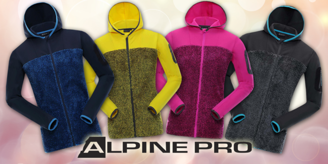 Dámské hřejivé mikiny Alpine Pro  3c40f3efdc