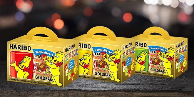 Dárkové balení Haribo medvídků s hrnečkem